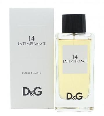 DOLCE & GABBANA LA TEMPERANCE 3.3 EDT SP WOMEN'S Eau de Toilette New In Box