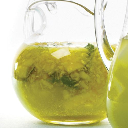 Basil brings depth to this lush and lightly sweet drink, which is chock-full of fruit.