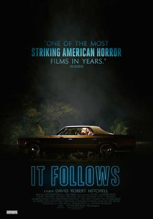 It Follows Canadian 27x40 Movie Poster 2015 Scary Movies Best Movie Posters Horror Posters