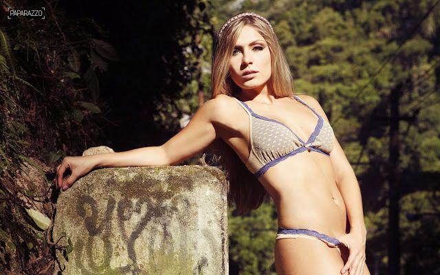Confira as fotos sensuais da ex-BBB Renata para o Paparazzo | Conectado Famosos