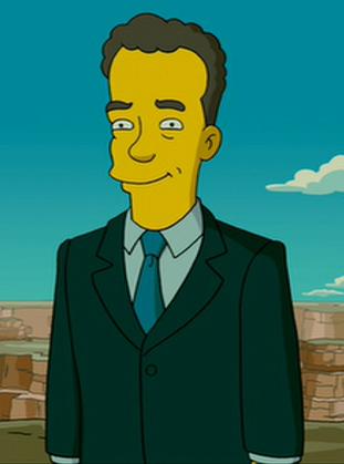2007 Voice Of Tom Hanks In The Simpsons Movie Tom Hanks The Simpsons Movie The Simpsons