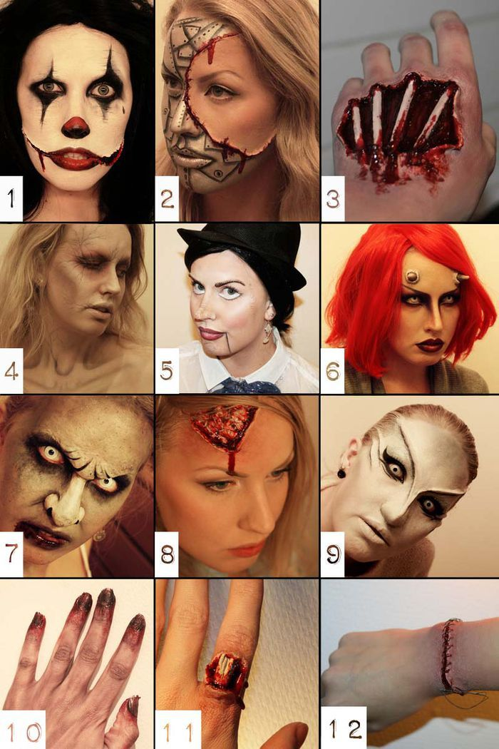 Awesome makeup, so many great looks. No tutorials, just inspirational / psychosandra