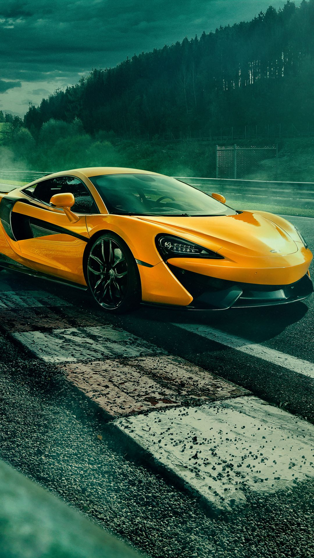 Vehicles Mclaren 570s Mclaren Car Sport Car Supercar Vehicle Yellow Car 1080x1920 Mobile Wallpaper Maclaren Cars Car Wallpapers Super Cars
