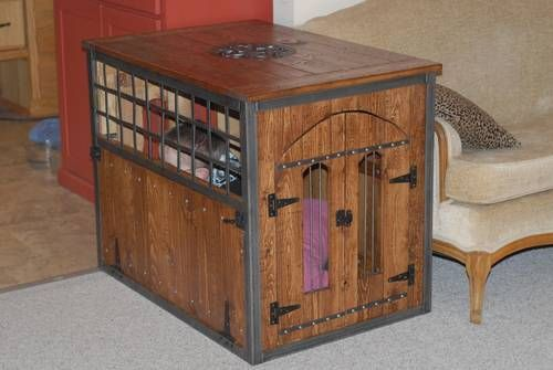 A Dog Kennel Or Furniture? Love It!