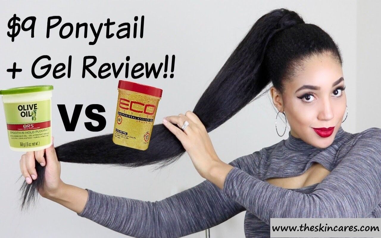 Hair Gel For Ponytail Amazing Results In 2020 Cool Hairstyles Hair Gel Styling Gel