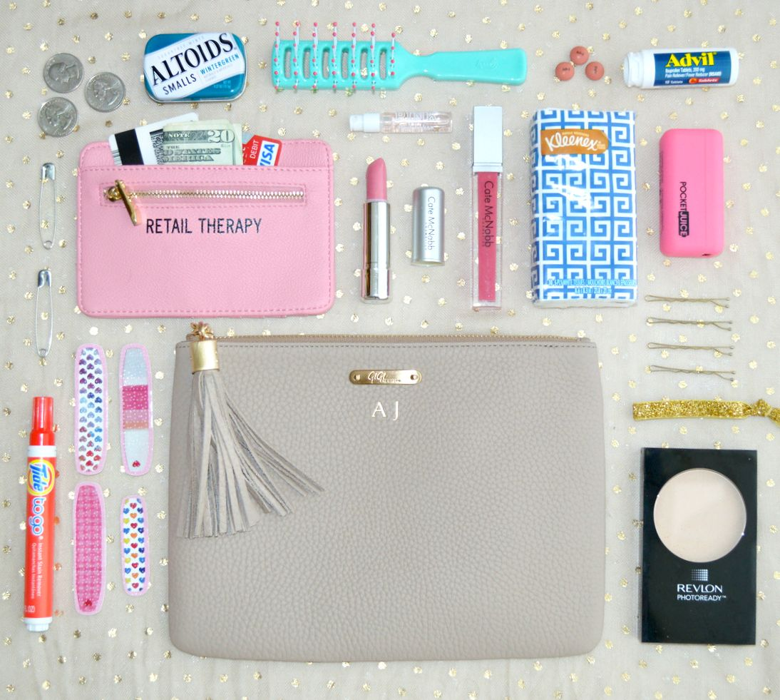 Clutch Essentials A Guide to the Perfectly Packed Clutch