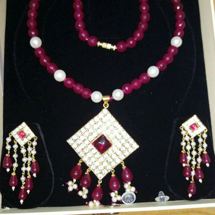 Rajputi jewellery beautiful pendent set by Kuldeep Singh   Royal ...