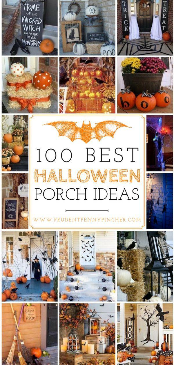 100 Best Halloween Porch Decor Ideas Pinterest Halloween porch - pinterest halloween decor ideas