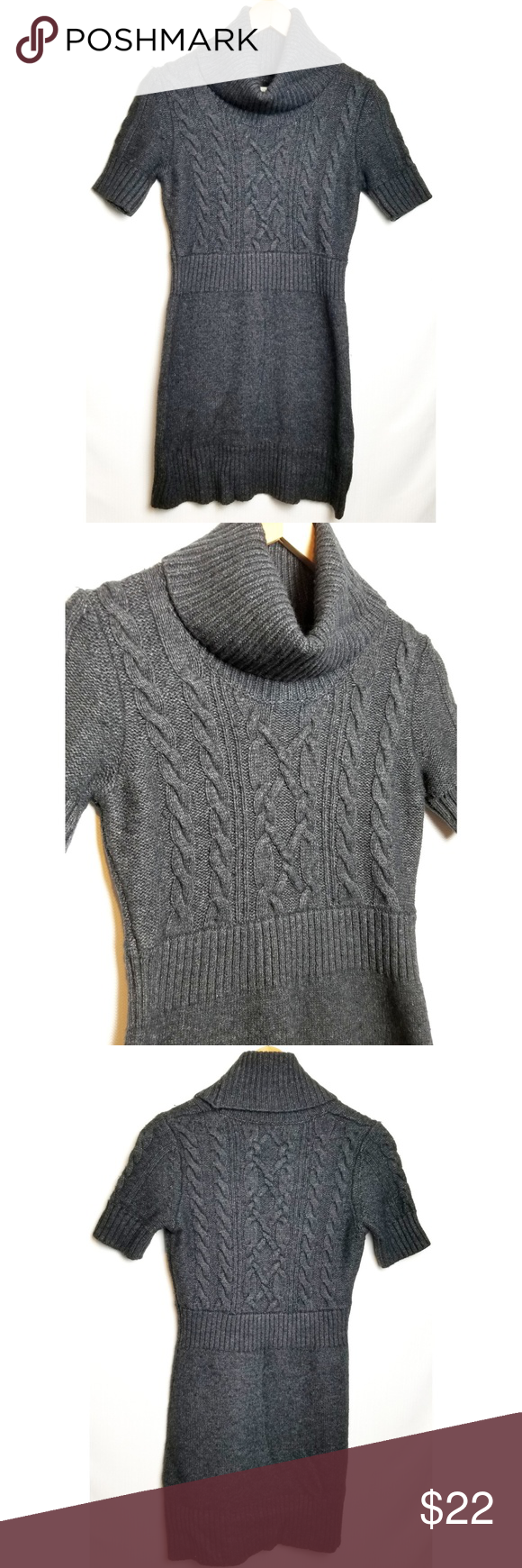 Loft Small Sweater Dress Cable Knit Sweater Dress Sweaters Sweater Dress