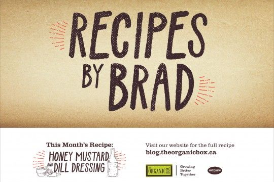 RECIPES BY BRAD | Honey Mustard & Dill Dressing