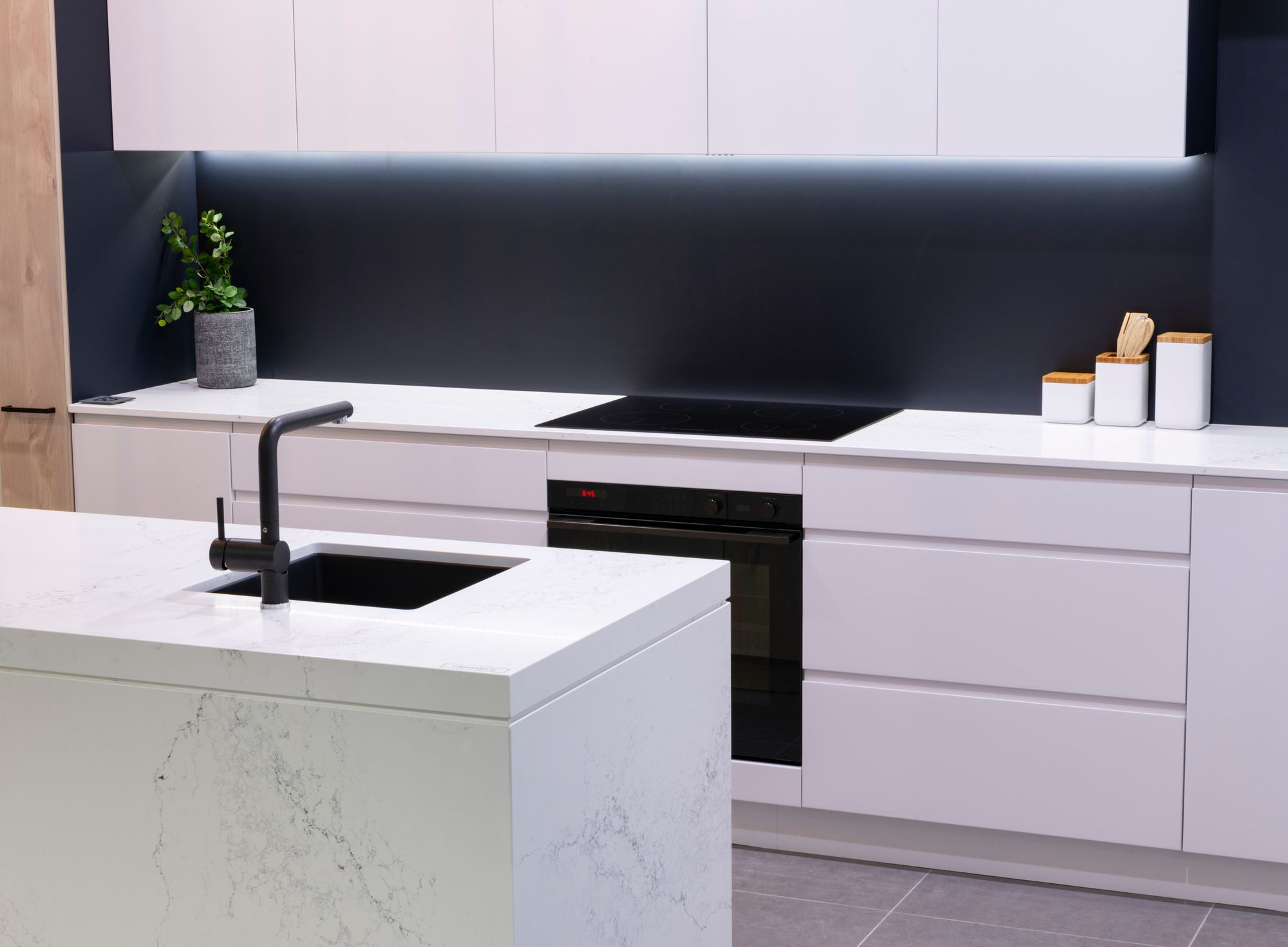 Pure Sophistication With Caesarstone Empira White Kitchens For