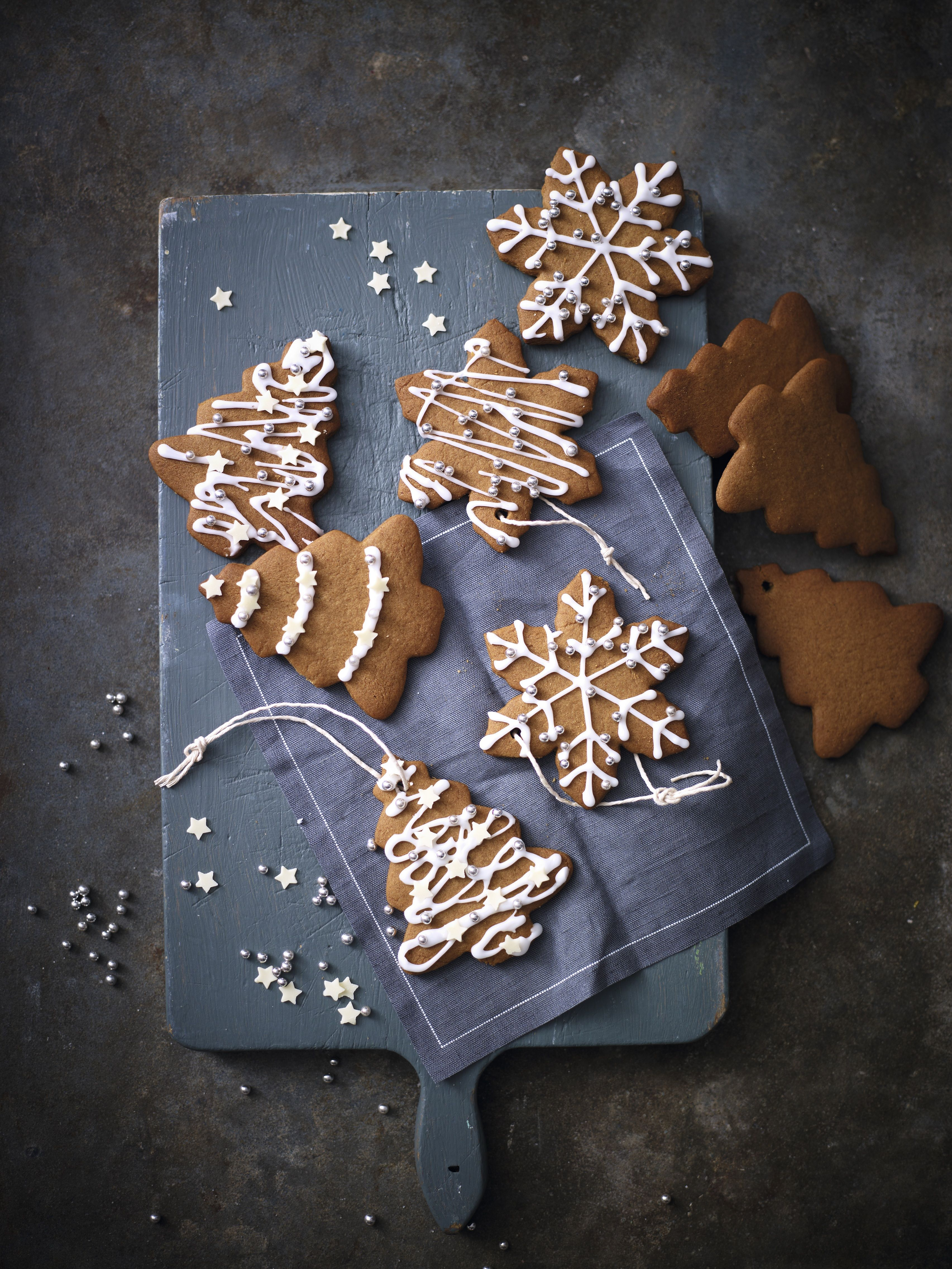 Nothing says Christmas quite like these gingerbread Christmas trees. Try this recipe: http://www.waitrose.com/home/christmaswithwaitrose/gingerbread.html?wtrint=1-Content-_-2-homepage-_-3-hero-_-4-banner-_-gingerbread
