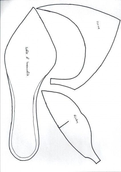 Vorlage High Heel | svg and templates | Pinterest | High heel, Cake ...