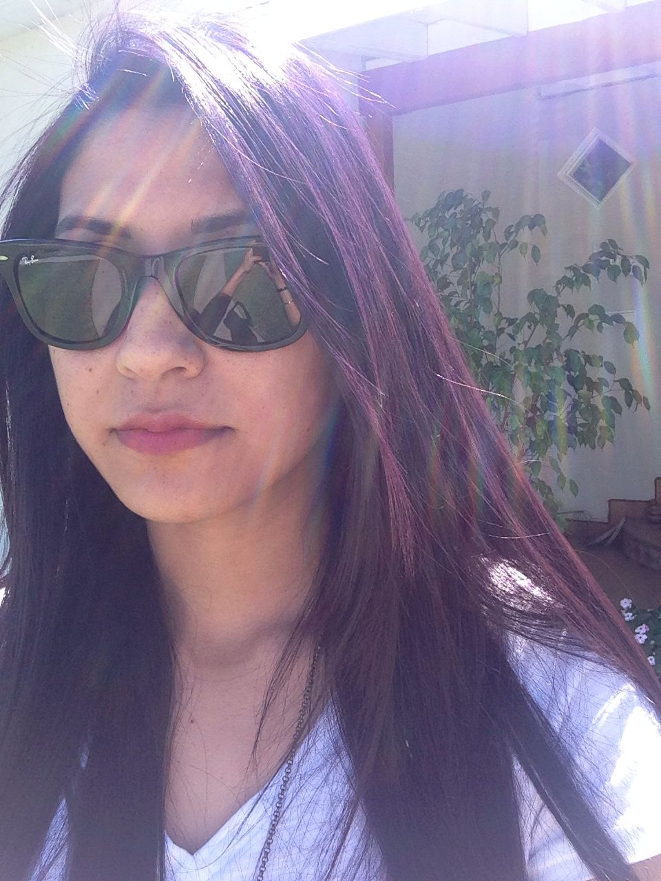 Manic Panic Ultra Violet On Dark Hair With Images Purple Hair
