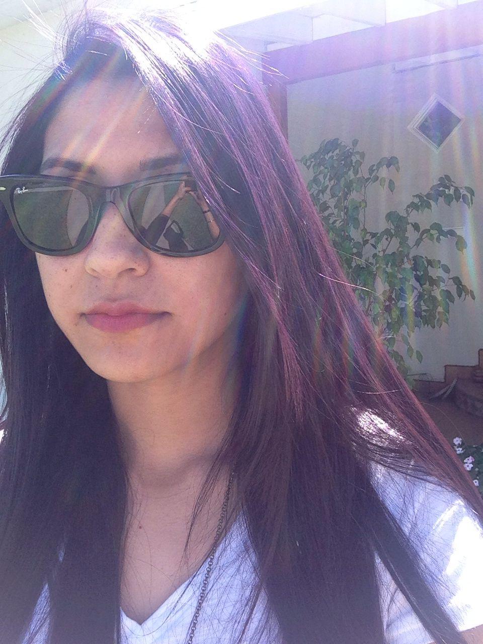 Manic panic ultra violet on dark hair hair u makeup pinterest