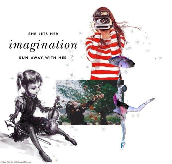 """Imagination"" by sunshinelolipopsandrainbows ❤ liked on Polyvore"