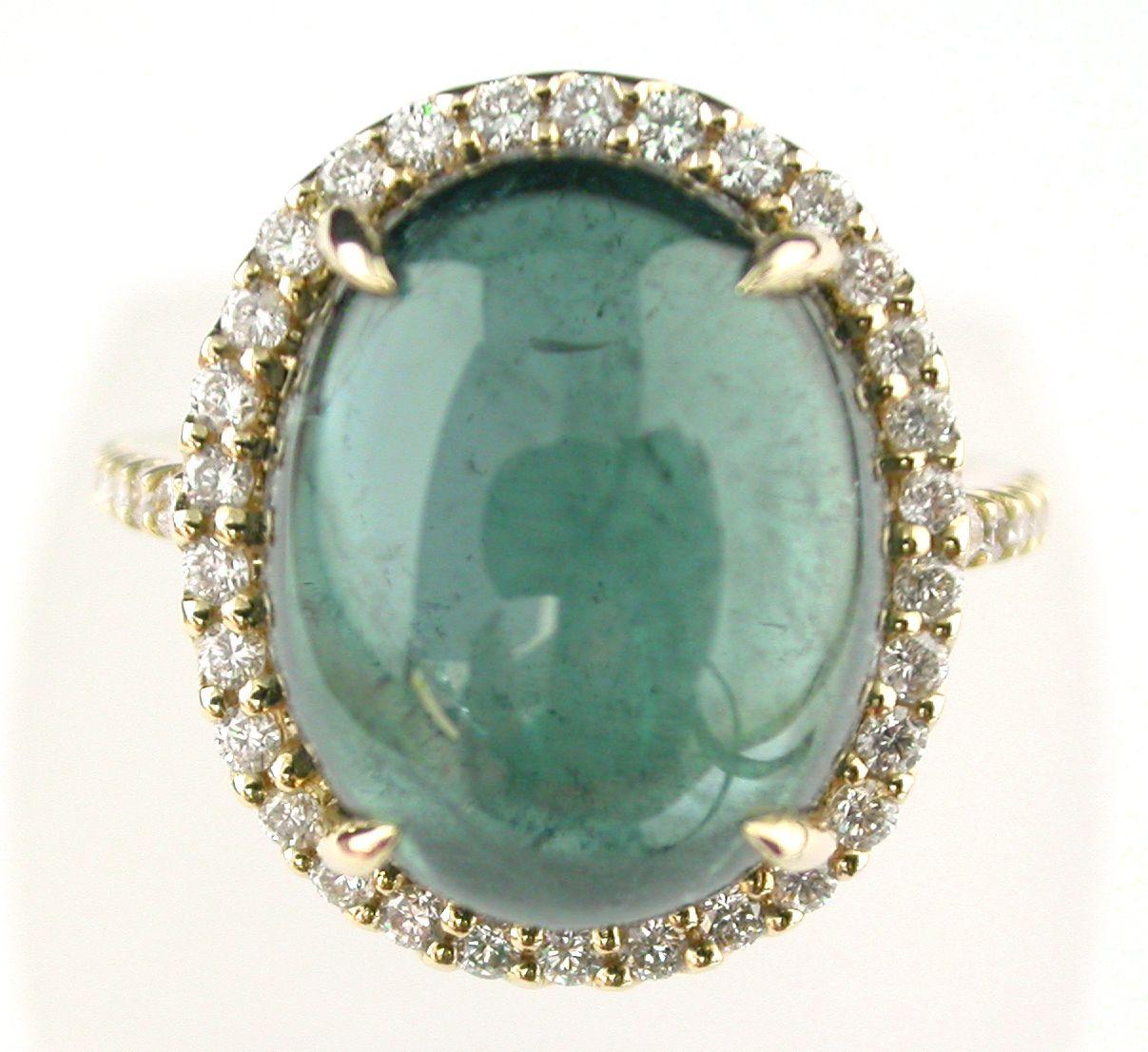 Tourmaline and Diamond Ring @Larc Jewelers #larcjewelers