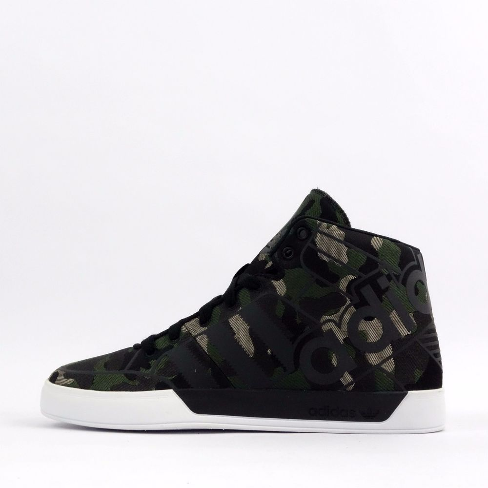 adidas Originals Hardcourt Hi Big Logo Weave Camo Mens Trainers Shoes  Sneakers in Clothes, Shoes & Accessories, Men's Shoes, Trainers