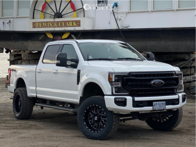 2020 Ford F 250 Super Duty 20x10 25mm Tis 544bm In 2020 Ford Super Duty Trucks Super Duty Trucks Ford Super Duty