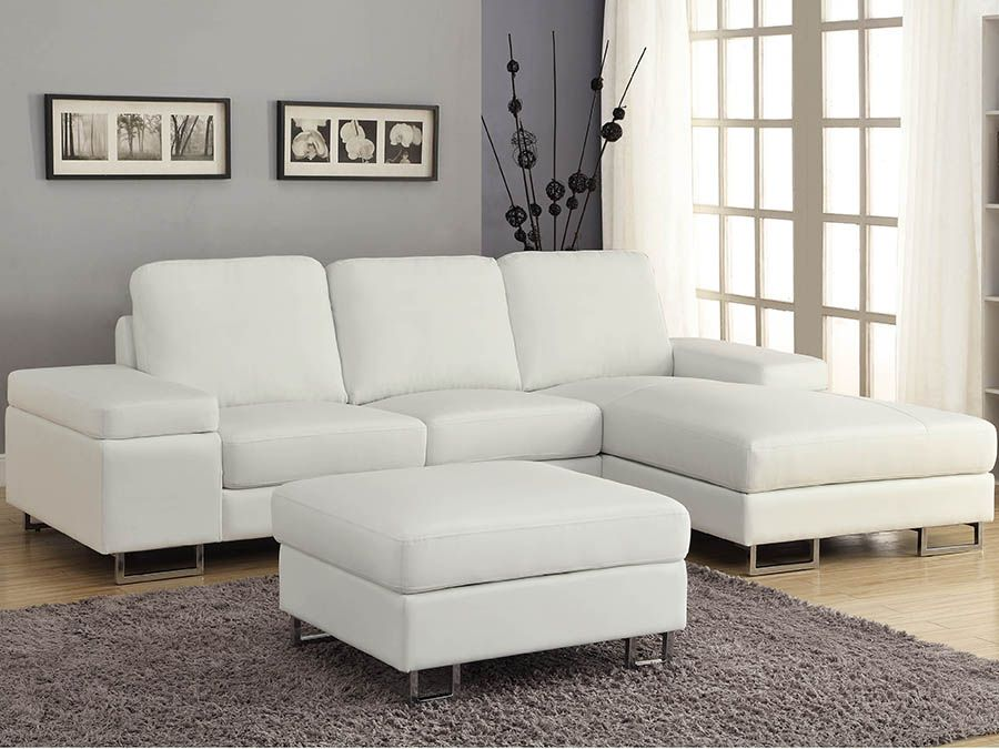 Bijel White Sectional, #practical #cozy #lovely | White lovers, a ...