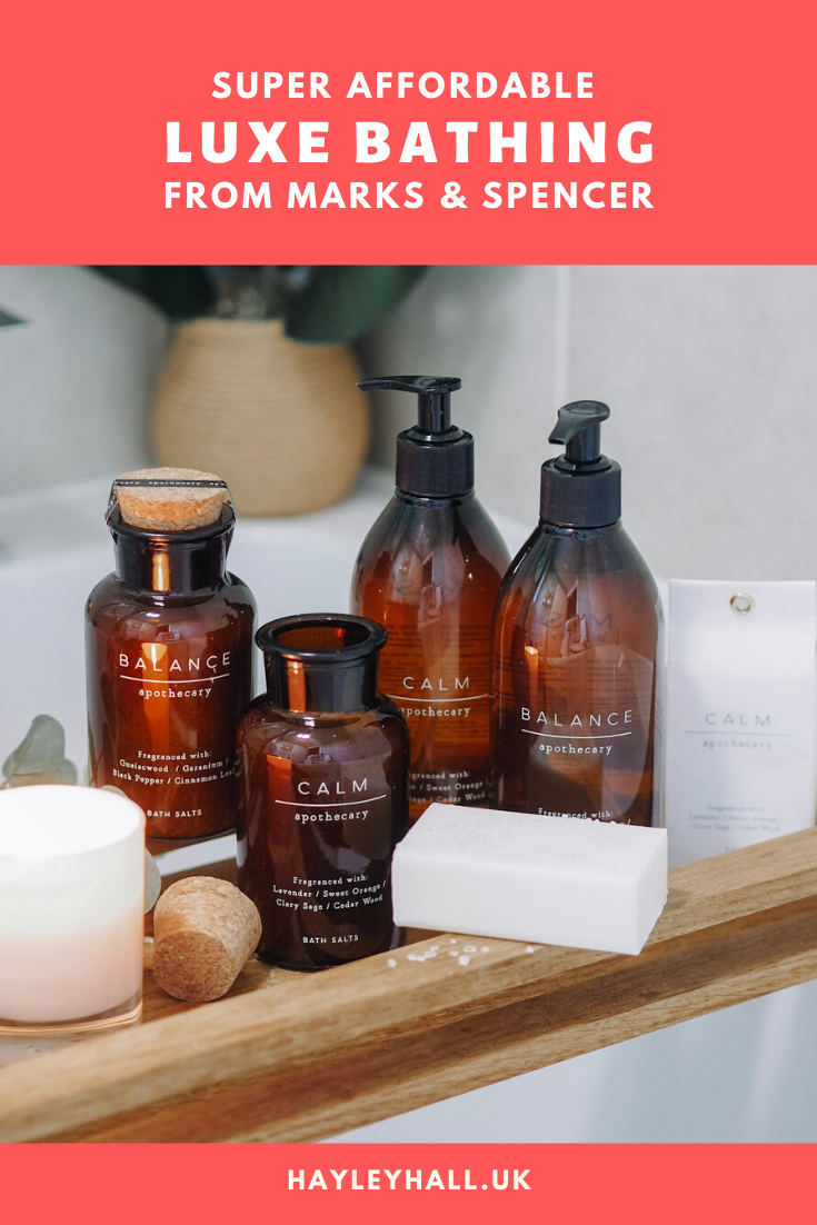 Marks & Spencer Apothecary: Super Affordable Bath & Body ...