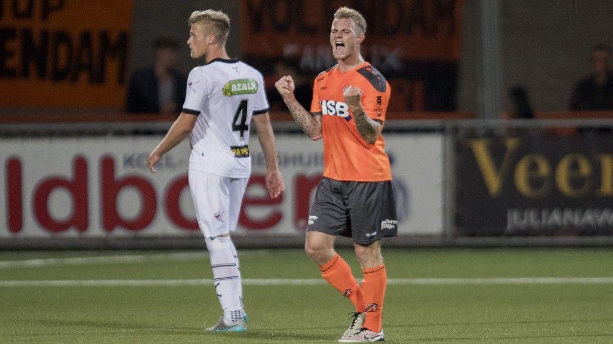 Volendam wint spektakelstuk tegen NAC Breda - NH Nieuws