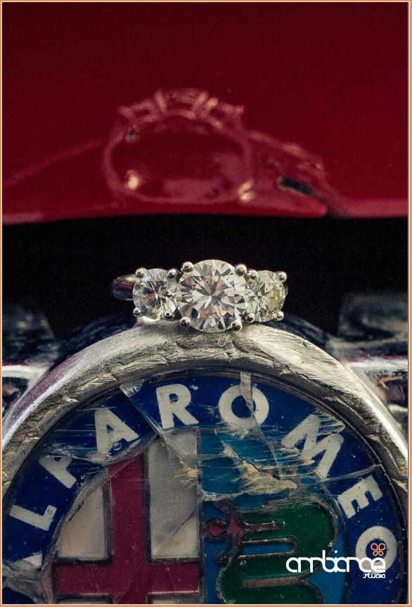 Engagement Shoot ring detail