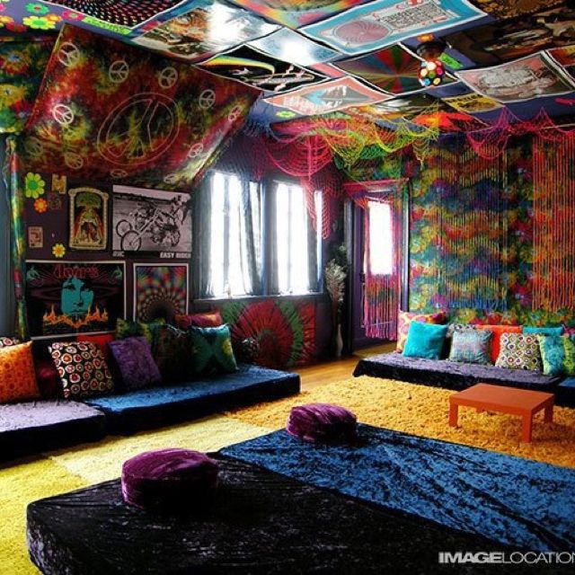 Fantasy Bedroom Chill Room Hippie Living Room Hippie House