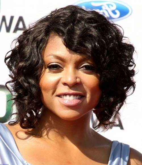 Short Haircuts For Black Women With Round Faces Short Curly Hairstyles For Women Short Hair Styles For Round Faces Curly Weave Hairstyles