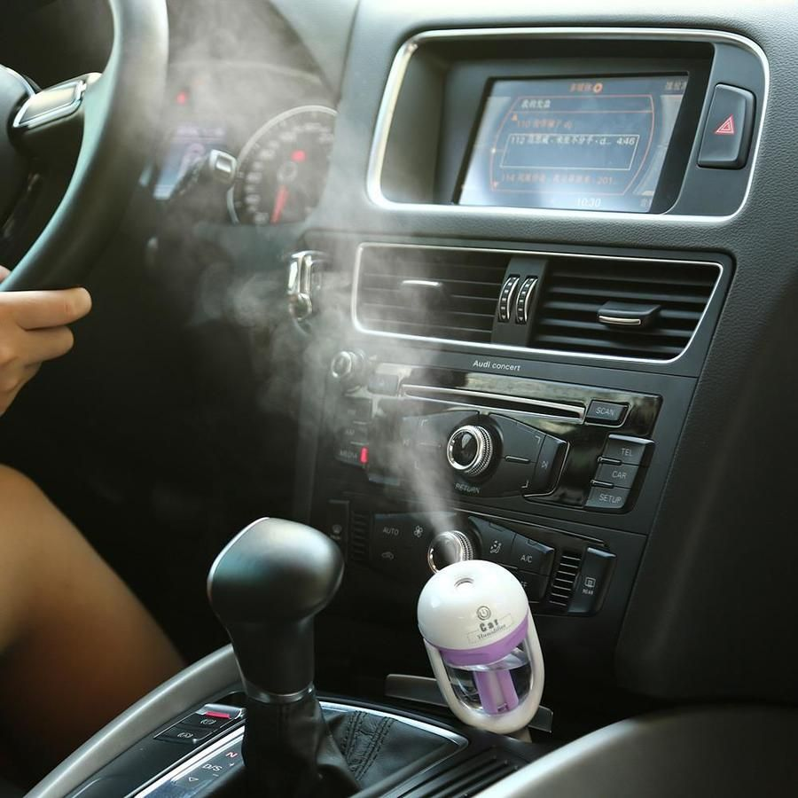 Mini Portable Car Air Humidifier