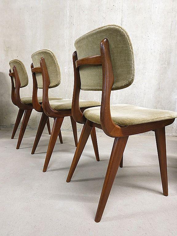 Vintage Design Eetkamerstoelen.Vintage Design Eetkamerstoelen Webe Louis Van Teeffelen