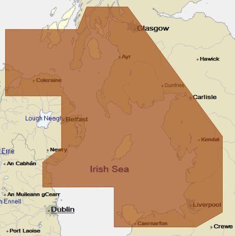 C-Map NT+ Chart EW-C235: Irish Sea to North Channel (Update) #irishsea C-Map NT+ Chart EW-C235: Irish Sea to North Channel (Update) #irishsea