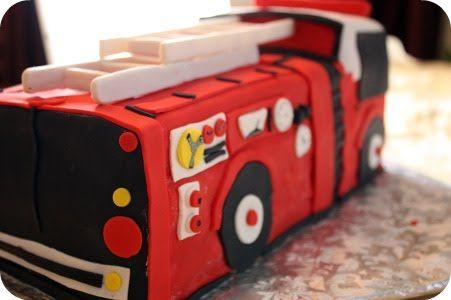 Dozen Flours Fire Engine Cake Fire Engine Cake Vegan