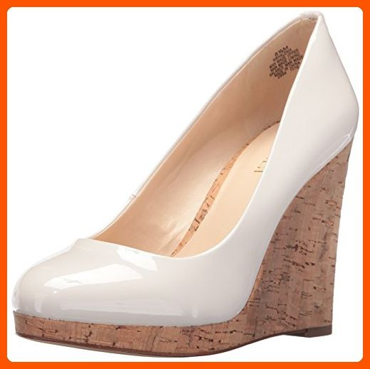 e08a2fc654 Pumps · Nine West Women s Halenia Patent Wedge Pump