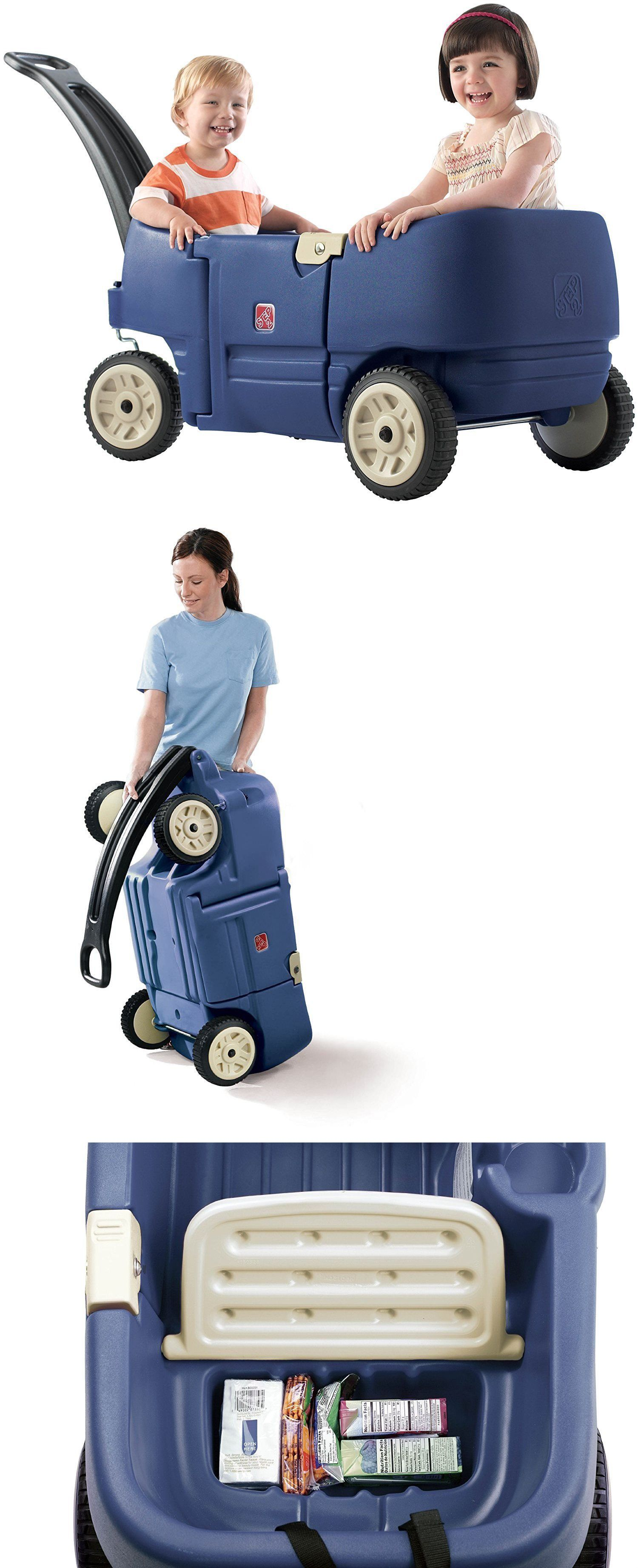 Step 2 Step2 Wagon For Two Plus Blue BUY IT NOW ONLY