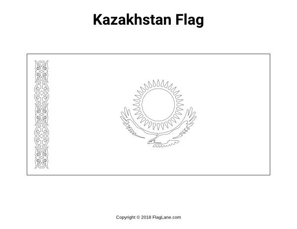 Free Printable Kazakhstan Flag Coloring Page Download It At Https Flaglane Com Coloring Page Kazakh Flag Flag Coloring Pages Kazakhstan Flag Flag Printable