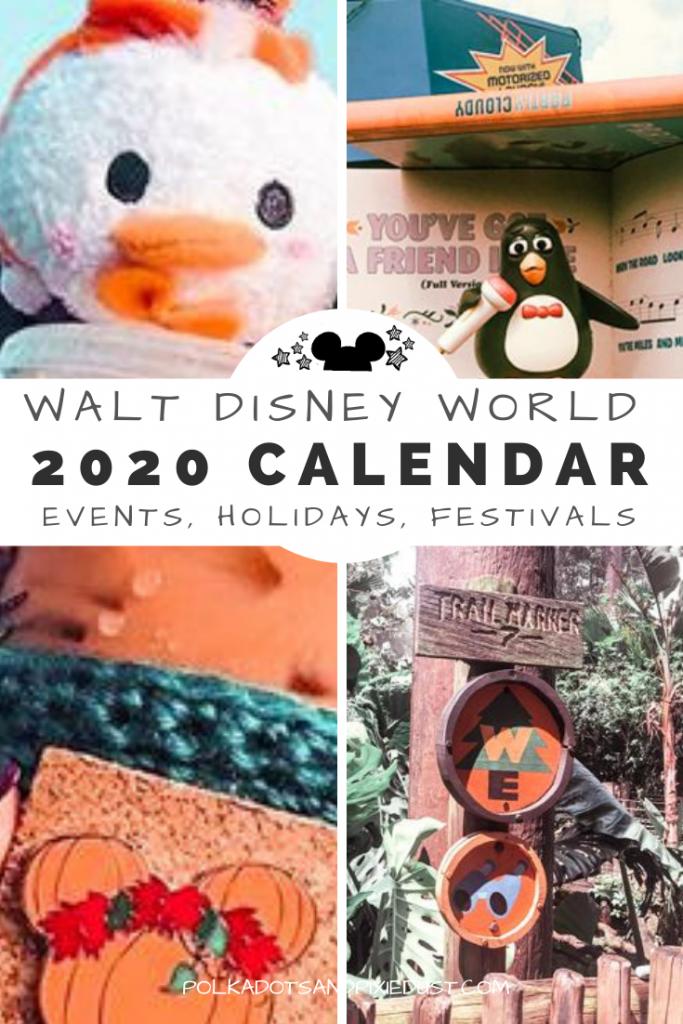 Walt Disney World 2020 Calendar of Events  Polka Dots and Pixie Dust Disney Vacation Blog Walt Disney World 2020 Veranstaltungskalender Alles was im Jahr 2020 passiert vo...