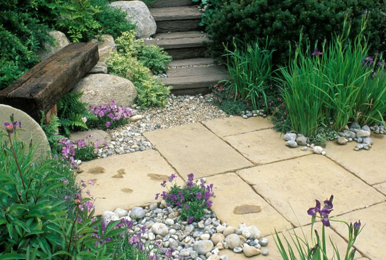 Image result for paving ideas for gardens | paving and garden ideas ...
