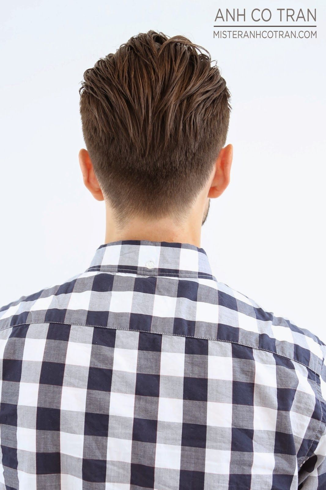 Men cuts, Traditional undercut Backside