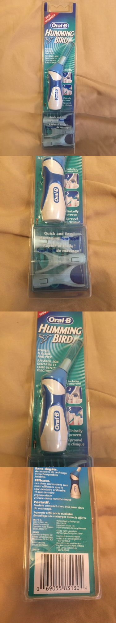 Oral b hummingbird electric flosser for couples