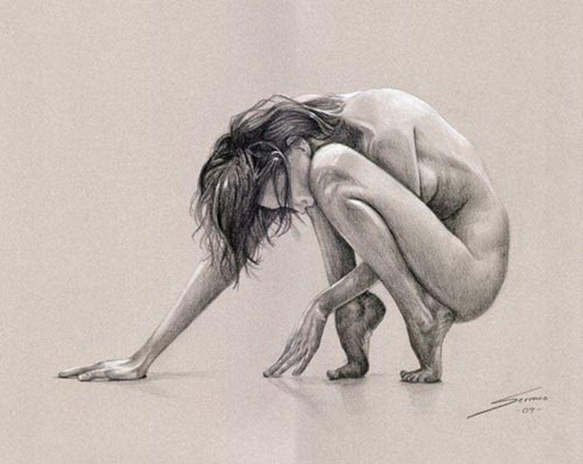 Dibujos Mujeres Cuerpo Completo Imagenes Pintura Pinterest