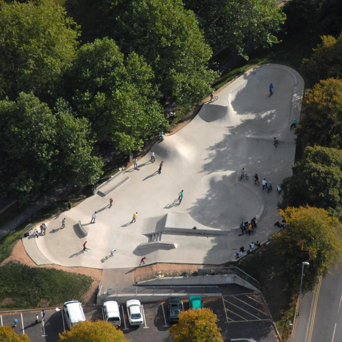 Check Out Dorchester Skatepark The State Of The Art Concrete Skatepark Is Great Fun On A Bmx Scooter And Inline Skates A Skate Park Dorchester Urban Planning