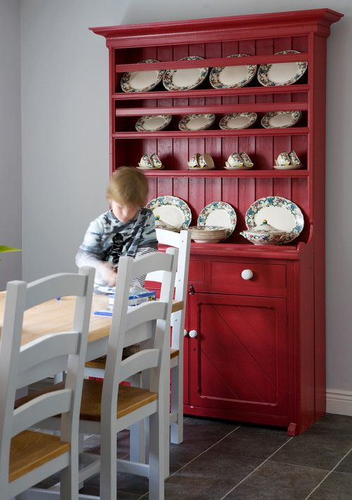 Red Welsh Dresser