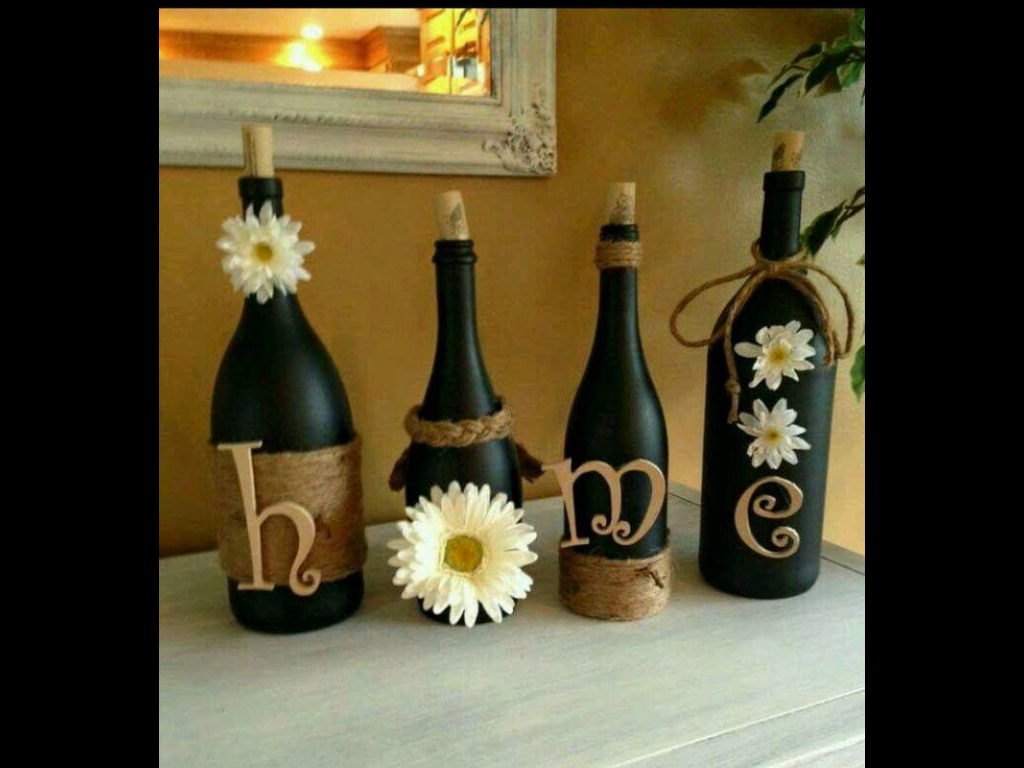 Lovely Wine Decorations for the Home