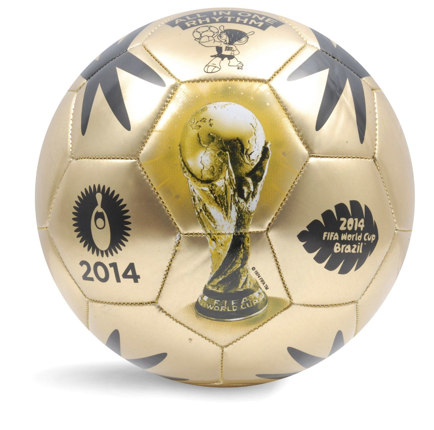 World Cup Soccer Event 2014 Ball Size 5 Gold Sports Outdoors Soccer Event Soccer Fifa World Cup