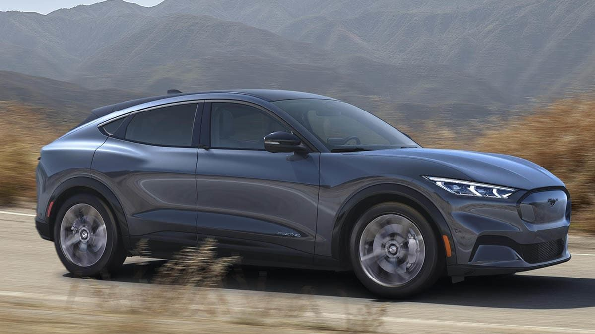 Ford Unveils The 2021 Mustang Mach E Electric Suv In 2020 New Ford Mustang E Electric Ford Mustang