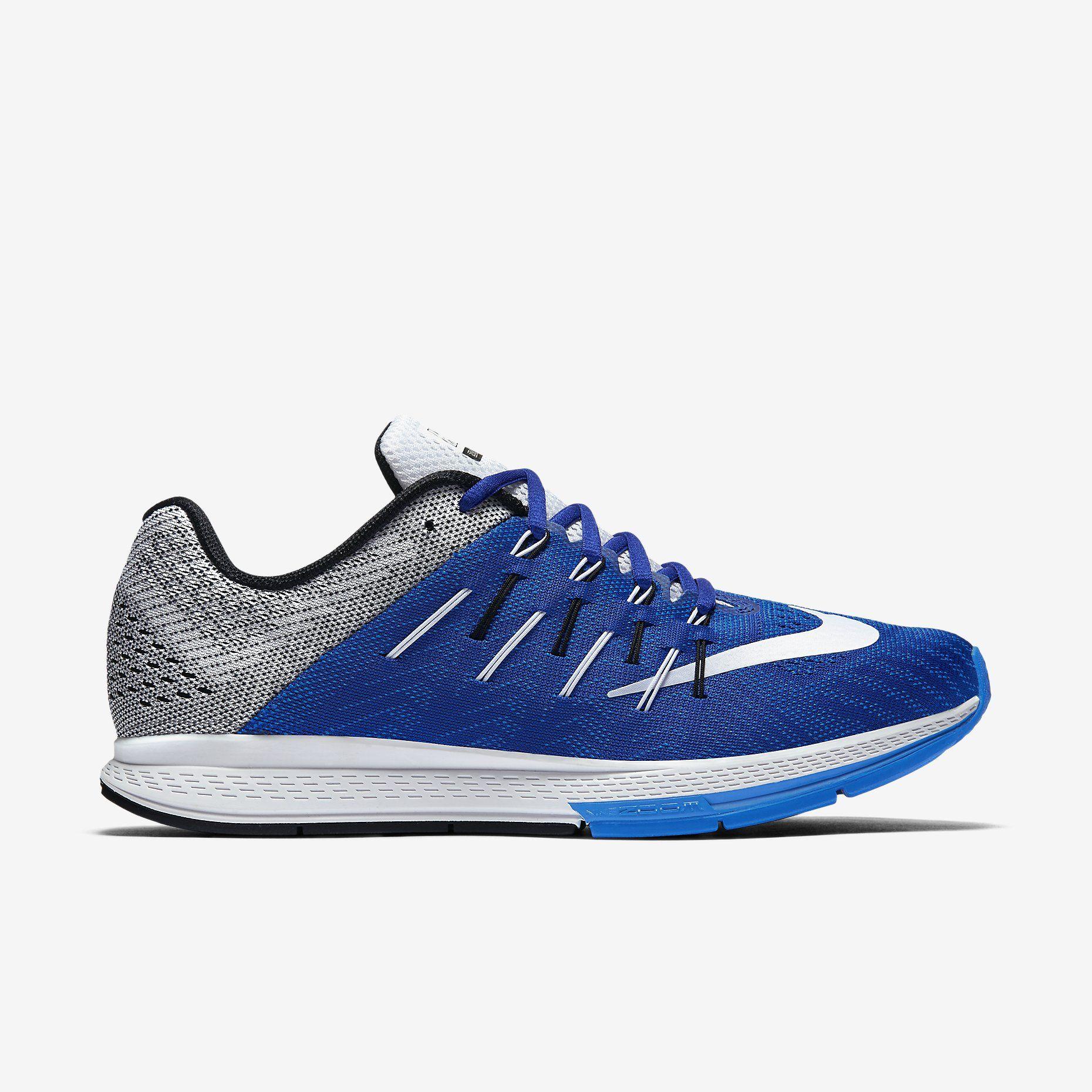 Nike Air Zoom Elite 8 Mens Running Shoes Concord/Black/Photo Blue/White 748588-402
