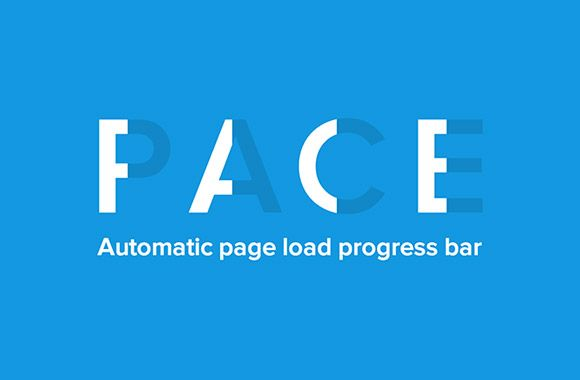 Pace js - Progress bars for websites | Code stuff | Progress