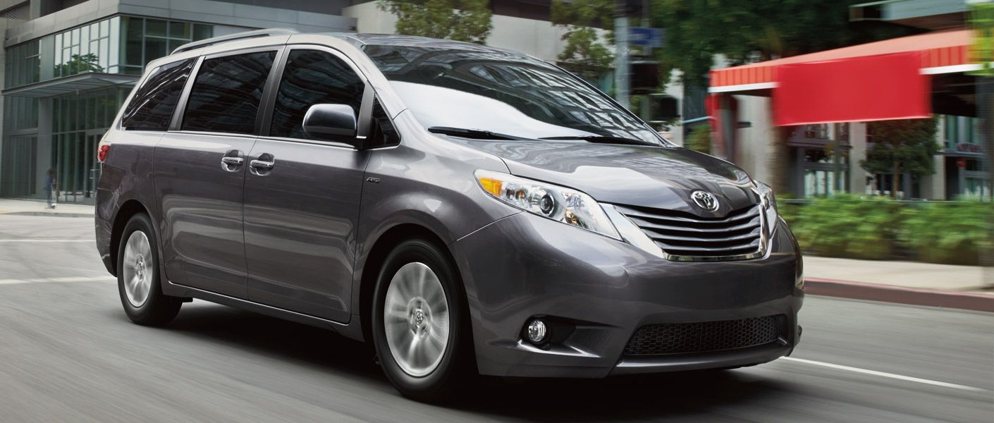 2016 Toyota Sienna Specs The Only Minivan In Its Cl With Available Awd