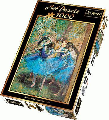Puzzle Trefl 1000 El 10361 Blekitne Tancerki Edgar Degas Degas Dancers Degas